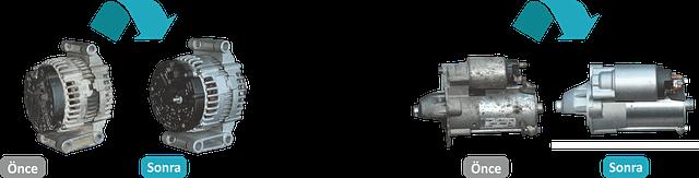 Alternatör ve Marş Motoru Revizyonu - 01 - RevMer - Revizyon Merkezi